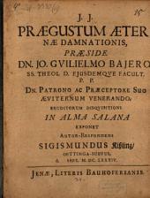 Praegustum aeternae damnationis