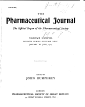 Pharmaceutical Journal: Volume 24