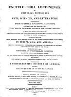 Encyclopaedia Londinensis PDF