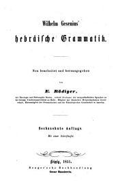 Hebräisches Elementarbuch: Band 1