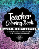 Teacher Coloring Book