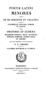 Poetae Latini minores ex recensione Wernsdorfiana: quae notis veteribus ac novis illustravit, Volume 140