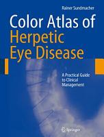 Color Atlas of Herpetic Eye Disease PDF