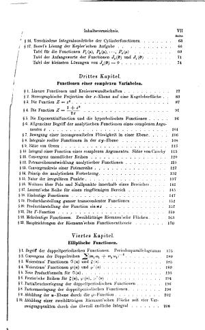 Kurzgefasste vorlesungen   ber verschiedene gebiete der h  heren mathematik mit ber  cksichtigung der anwendungen