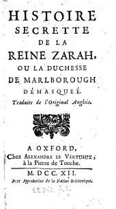Histoire secrete de la reine Zarah, et des Zaraziens. Trad
