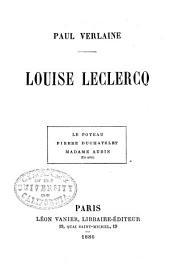 Louise Leclercq