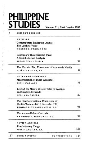 Philippine Studies PDF