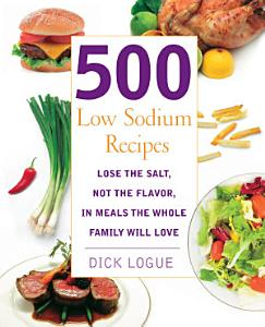 500 Low Sodium Recipes Book