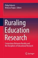 Ruraling Education Research