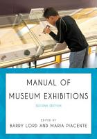 Manual of Museum Exhibitions PDF