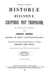 Historia de rebus constantinopolitanis