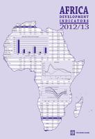 Africa Development Indicators 2012 2013 PDF