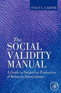 The Social Validity Manual Book