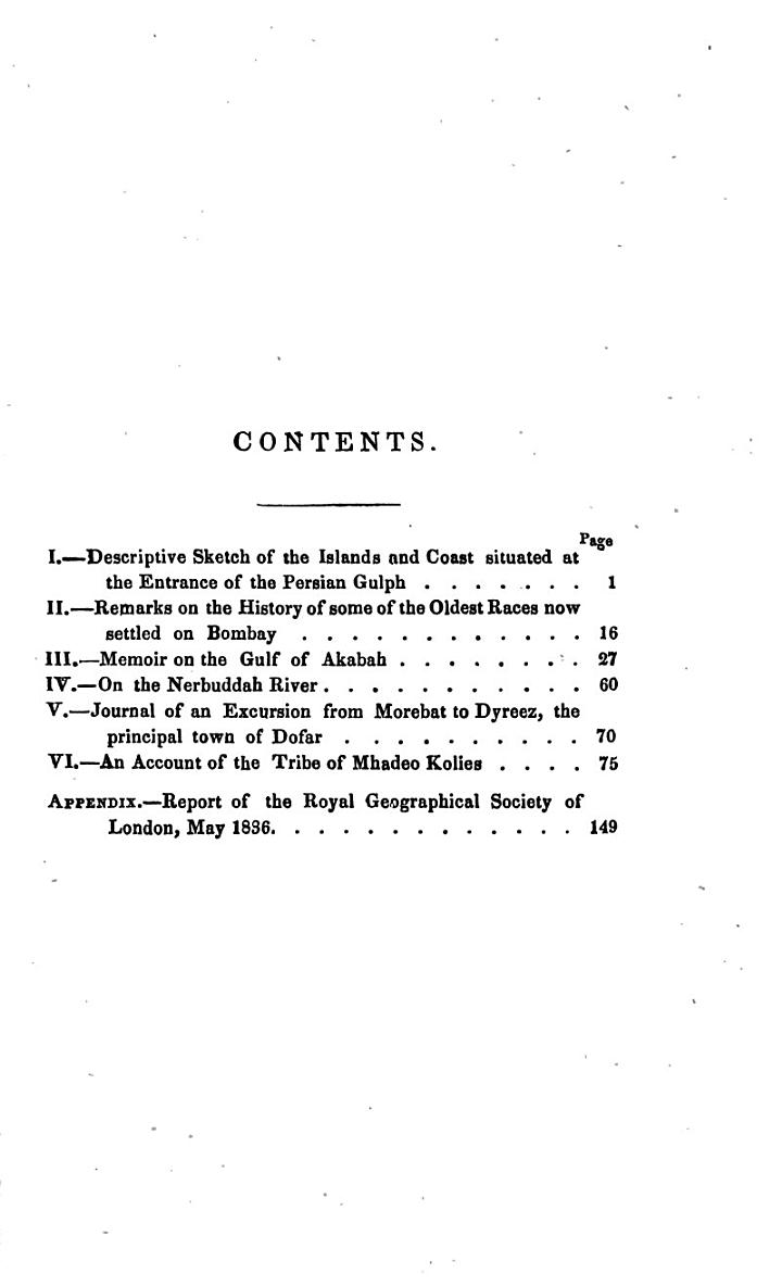 Transactions of the Bombay Geographical Society ...