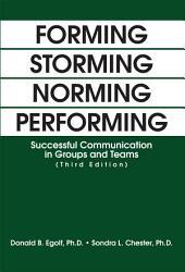 Forming Storming Norming Performing Book PDF