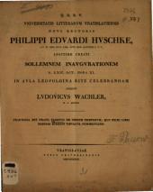 De ordine temporum: quo primi libri elegias scripserit Tibullus, commentatio ...