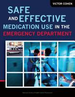 Safe and Effective Medication Use in the Emergency Department PDF
