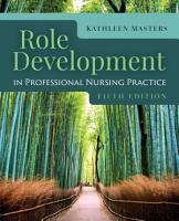 Role Development Professional Nursing Practice PDF