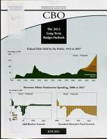 The Long term Budget Outlook PDF
