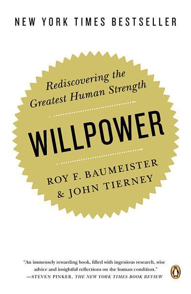 Willpower Pdf Book