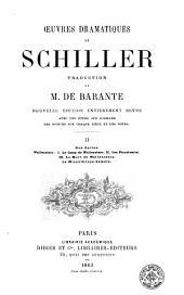 Oeuvres dramatiques de Schiller, 2