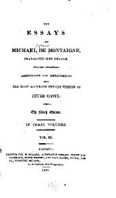 The essays of Michael de Montaigne