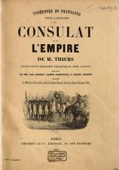 """Vignettes et portraits pour l'""""Histoire du Consulat et de l'Empire"""""""