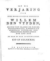 Op de verjaring van ... Willem den Vyfden, prinse van Oranje ... op den 8sten der lentemaande MDCCLXXXIII: Volume 1