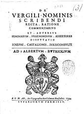 Iosephi. Castalionis iurisconsulti Explicatio ad inscriptionem Augusti, quæ in basi est obelisci statuti per S.D.N. Sixtum 5. pont. opt. max. ante Portam Flaminiam, alias Populi, ..