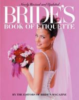 Bride s Book of Etiquette PDF