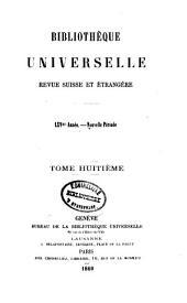 Bibliothèque universelle de Geneve: Volume13