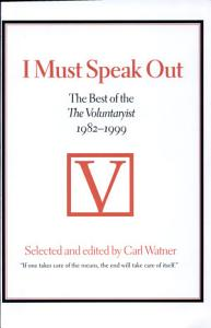 I Must Speak Out Book