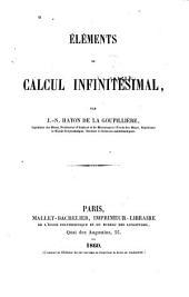 Éléments Du Calcul Infinitésimal...