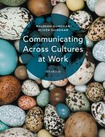 Communicating Across Cultures at Work PDF
