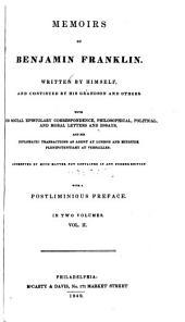 Memoirs of Benjamin Franklin: Volume 2