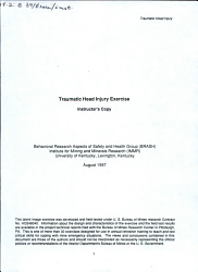 Traumatic Head Injury Exercise PDF