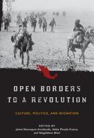 Open Borders to a Revolution PDF