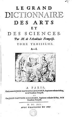 LE GRAND DICTIONNAIRE DES ARTS ET DES SCIENCES  PDF