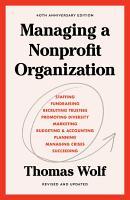 Managing a Nonprofit Organization PDF