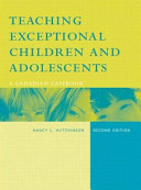 Teaching Exceptional Children and Adolescents Book