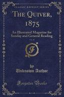 The Quiver  1875  Vol  10 PDF