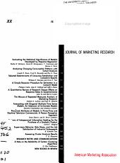 JMR  Journal of Marketing Research PDF