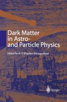 Dark Matter in Astro  and Particle Physics PDF