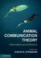 Animal Communication Theory PDF