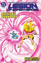 Legion of Super-Heroes (1984-) #44