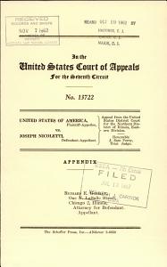 United States of America V  Nicoletti PDF