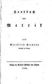 Handbuch der Metrik