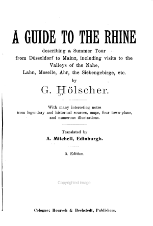 A guide to the Rhine PDF