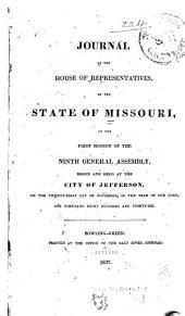 Journal ...: 1st Assembly, 1st Sess., 1820-