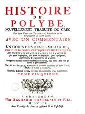 Histoire de Polybe: Volume 5
